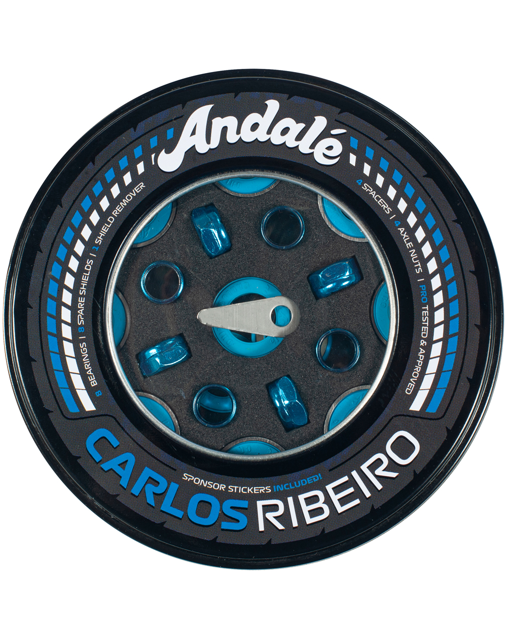 Andalé Roulements Skateboard Carlos Ribeiro Pro