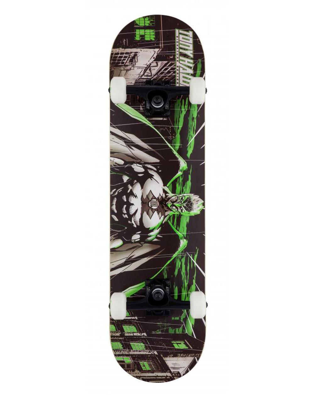 "Tony Hawk Skateboard Wasteland 8.00"" Green"
