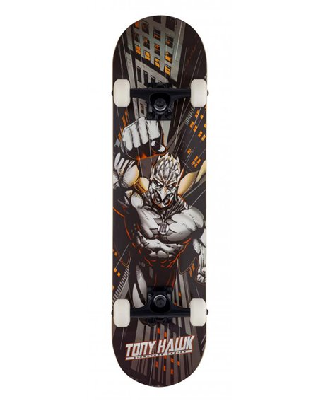 "Tony Hawk Skyscaper 7.75"" Complete Skateboard Orange"