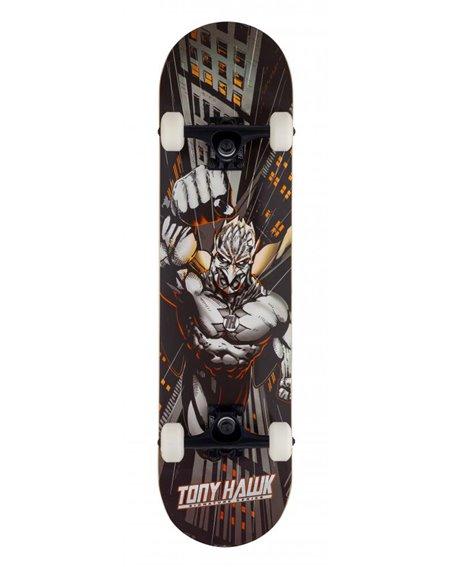 """Tony Hawk Skyscaper 7.75"""" Komplett-Skateboard Orange"""