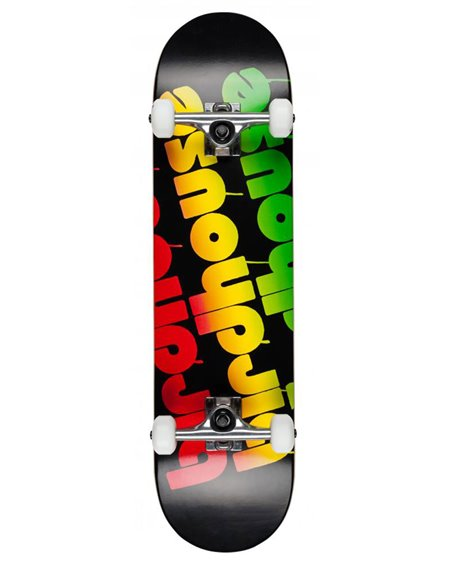 "Birdhouse Skateboard Triple Stack 8.00"" Rasta"
