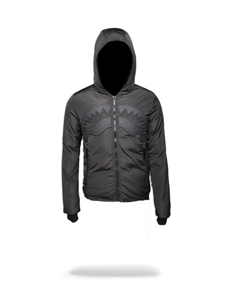 Sprayground Herren Jacke Ghost Rubber Shark Black