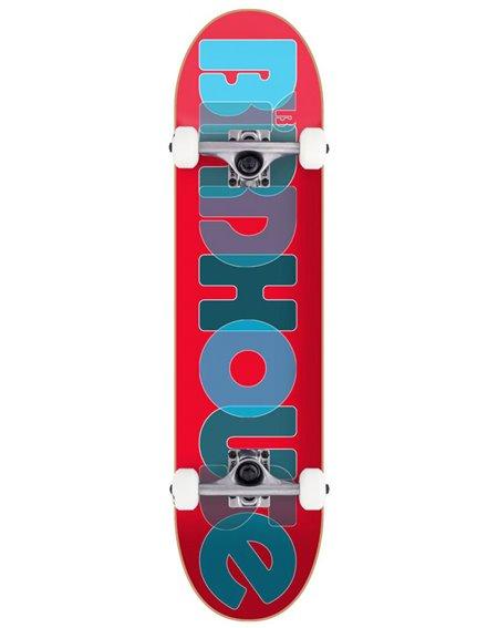"""Birdhouse Skate Montado Opacity Logo 2 8.00"""" Red"""