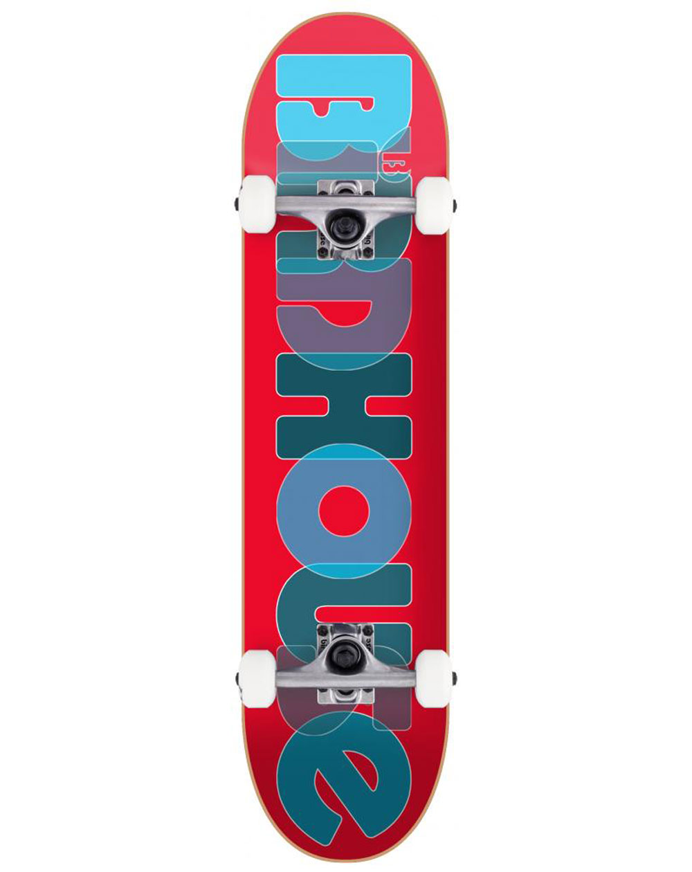 "Birdhouse Opacity Logo 2 8.00"" Complete Skateboard Red"