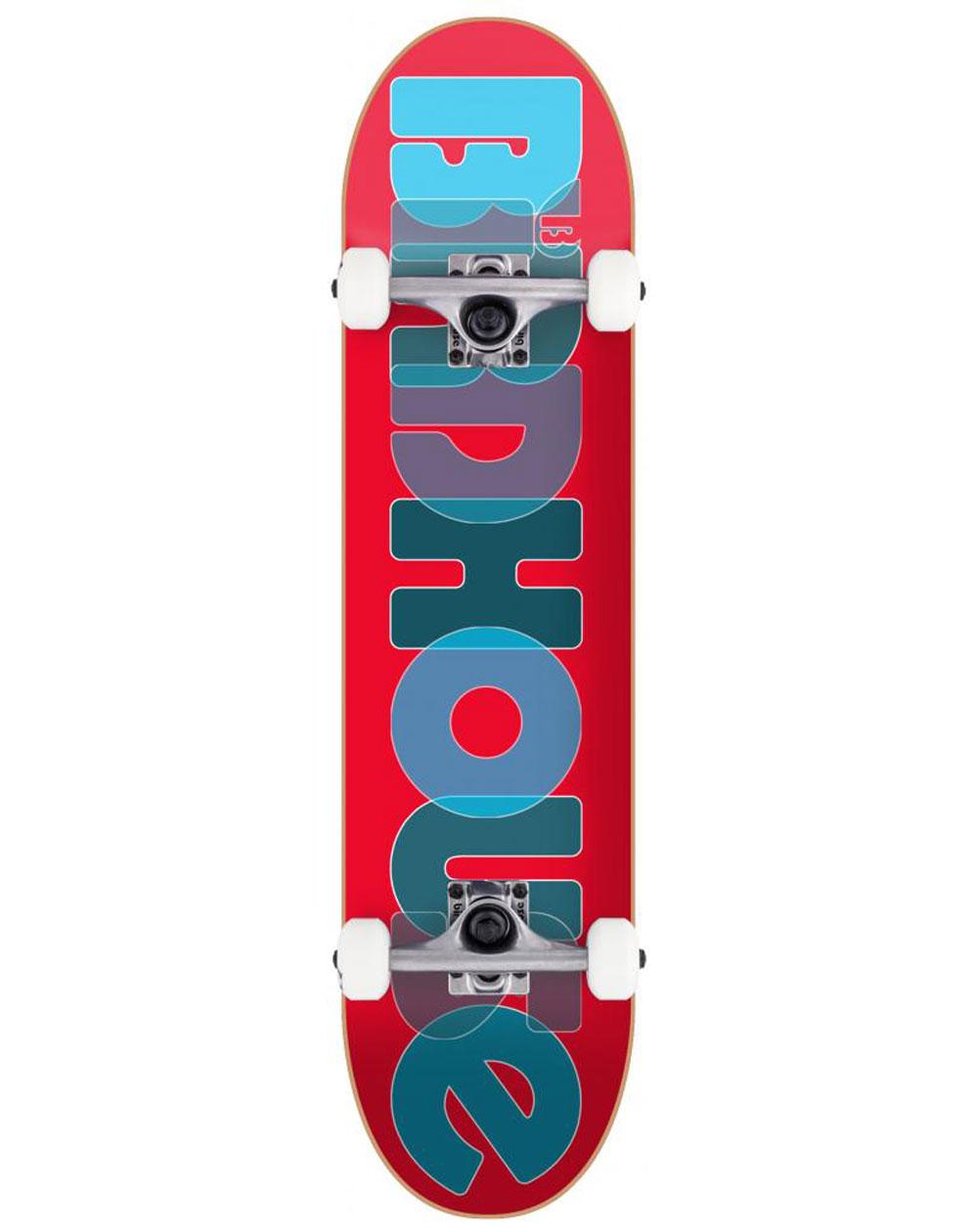"Birdhouse Skateboard Opacity Logo 2 8.00"" Red"