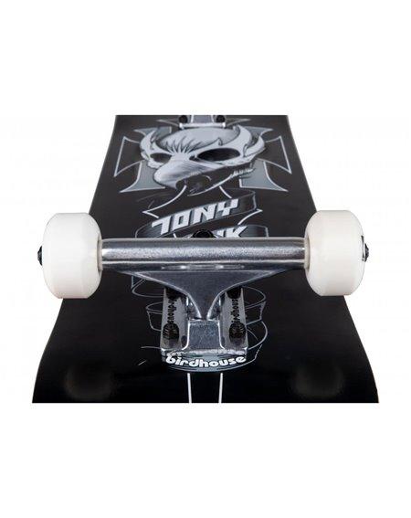 "Birdhouse Crest 8.00"" Complete Skateboard Black"