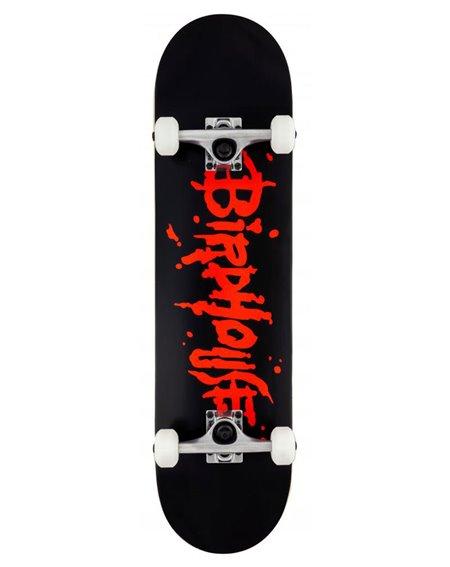 "Birdhouse Blood Logo 8.00"" Complete Skateboard Black"