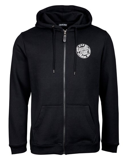 Santa Cruz Herren Zip Kapuzenpullover MFG Voltage Black