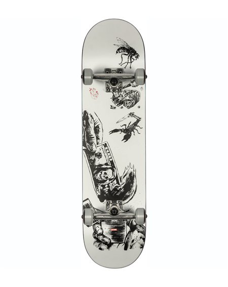 "Globe G1 Hard Luck 8.00"" Complete Skateboard White/Black"
