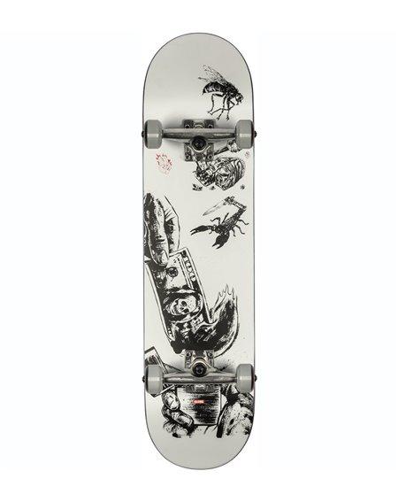 """Globe Skateboard Completo G1 Hard Luck 8.00"""" White/Black"""