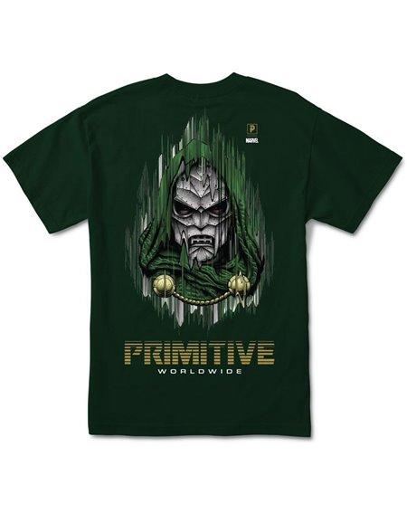 Primitive Paul Jackson x Marvel - Doom Camiseta para Hombre Forest Green