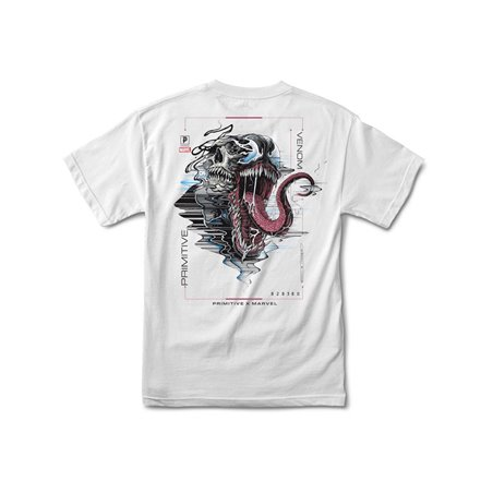 Primitive Paul Jackson x Marvel - Venom T-Shirt Uomo White