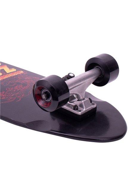 Z-Flex Skateboard Cruiser Dragon Shorebreak Black