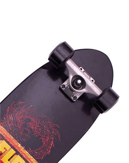 Z-Flex Dragon Shorebreak Skateboard Cruiser Black