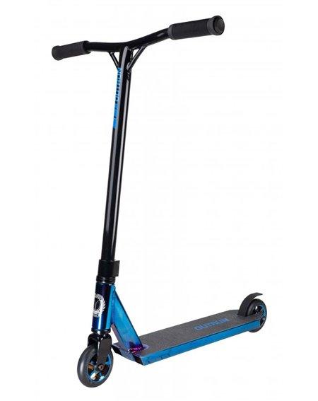 Blazer Pro Outrun 2 FX Stunt Scooter Blue Chrome