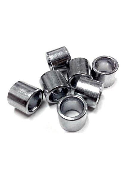 Sushi Espaciadores para Rodamientos Silver 4 piezas