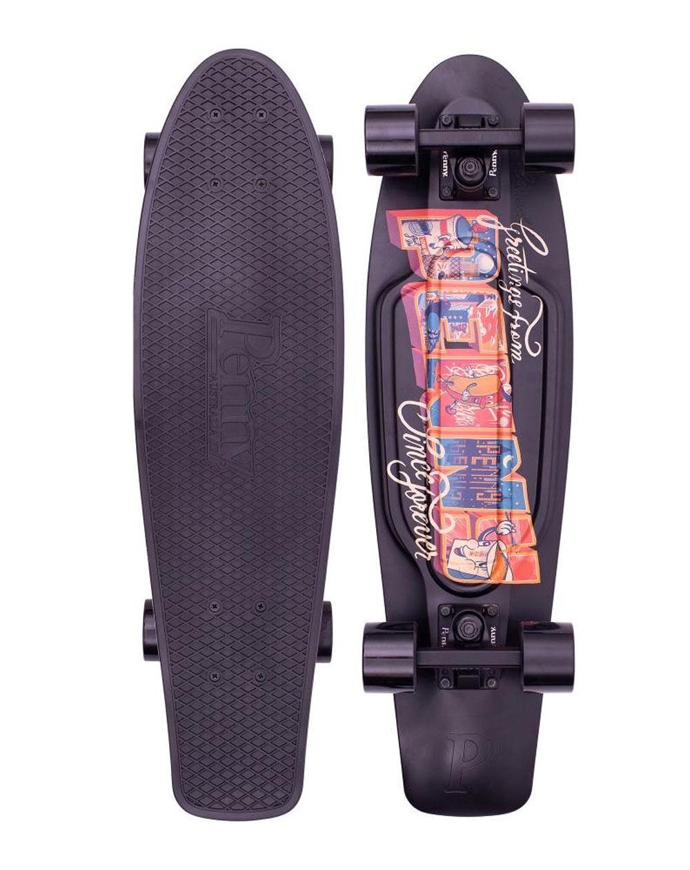 "Penny Skateboard Cruiser Postcard Urban 27"""