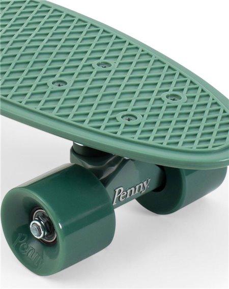 """Penny Staples 22"""" Skateboard Cruiser Green"""