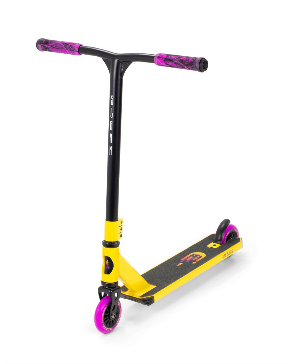 Slamm Scooters Tantrum V9 Stunt Scooter Yellow