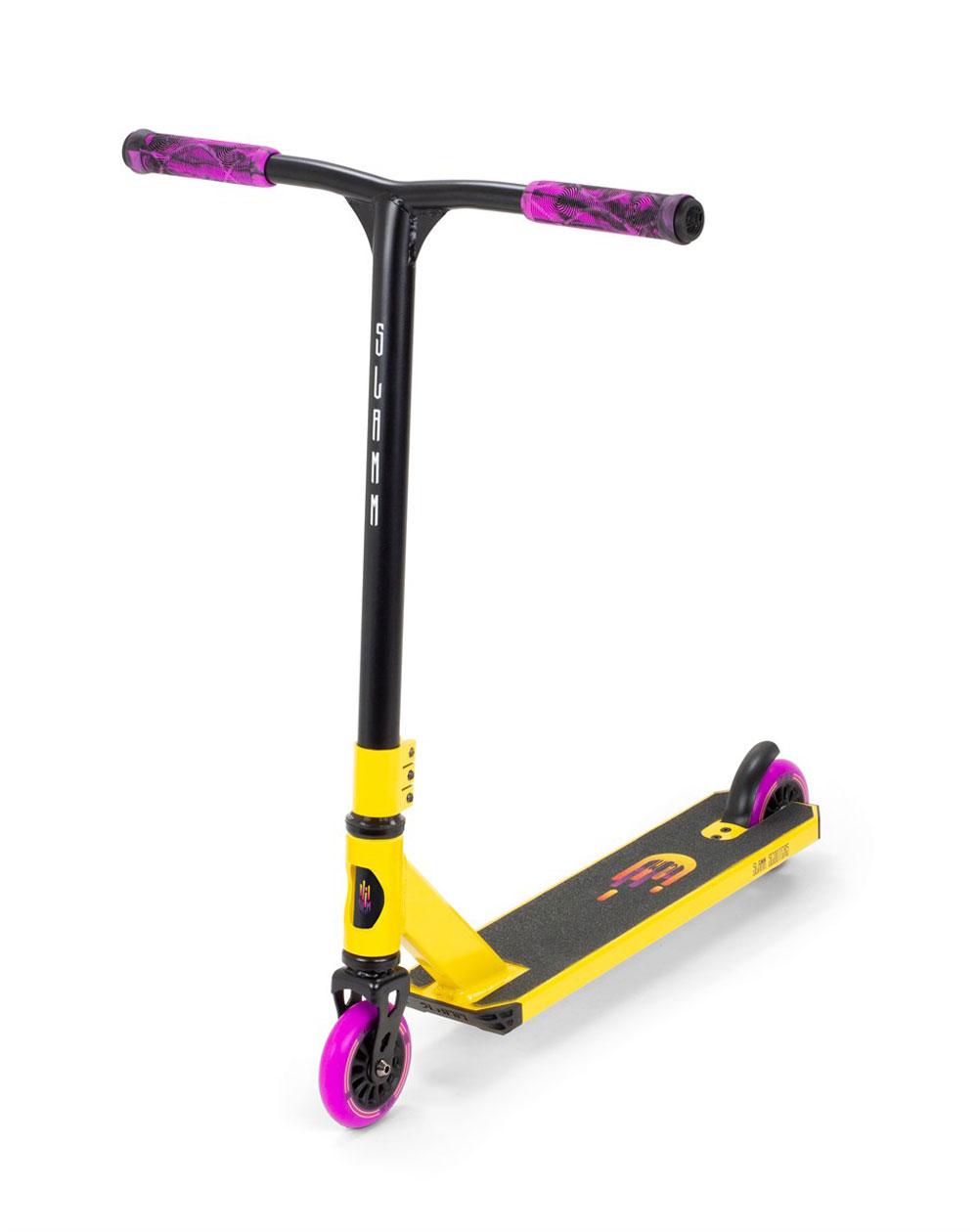 Slamm Scooters Trottinette Freestyle Tantrum V9 Yellow