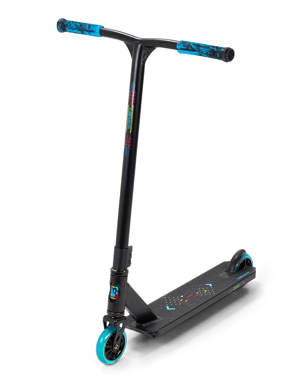 Slamm Scooters Classic V9 Stunt Scooter Black/Blue