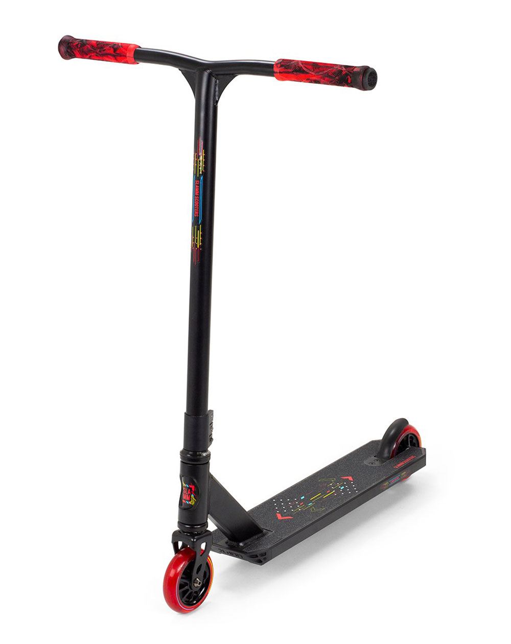 Slamm Scooters Trottinette Freestyle Classic V9 Black/Red