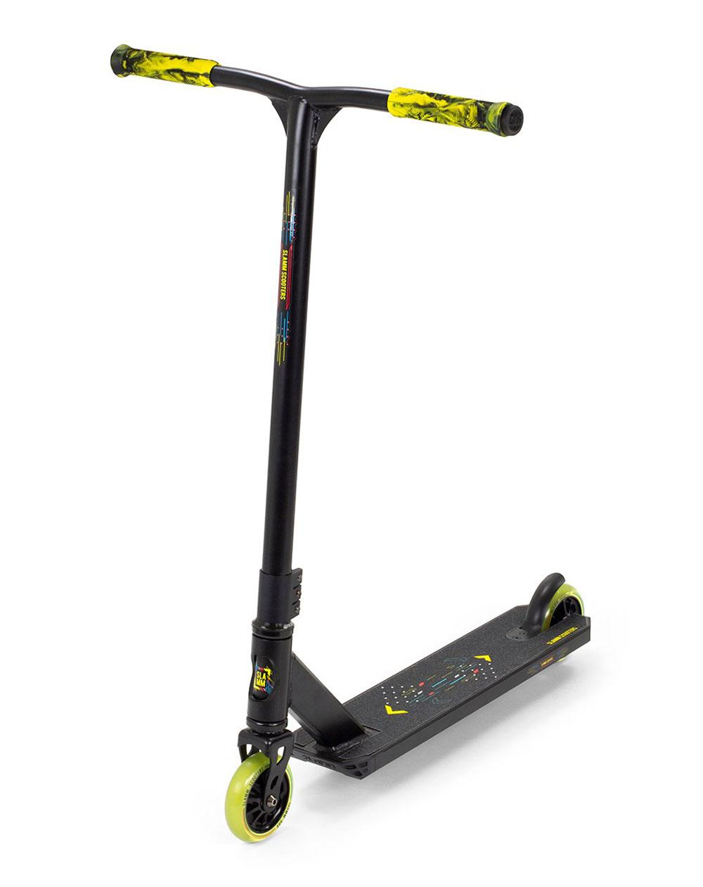 Slamm Scooters Trottinette Freestyle Classic V9 Black/Yellow