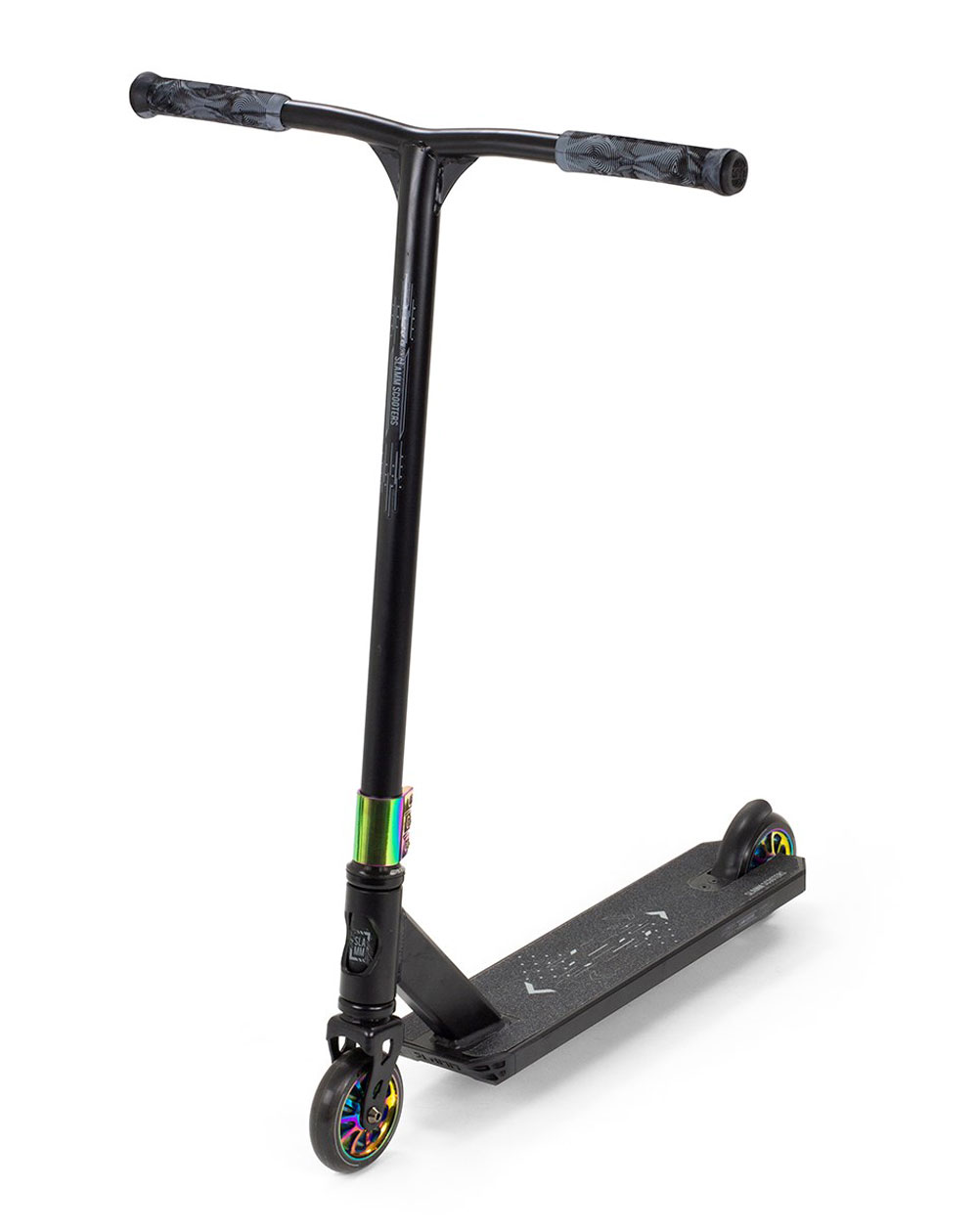 Slamm Scooters Classic V9 Stunt Scooter Black/Neochrome