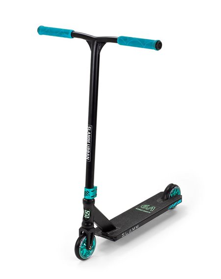 Slamm Scooters Monopattino Freestyle Urban V9 Black/Teal