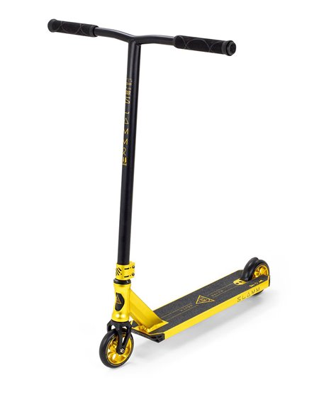 Slamm Scooters Patinete Freestyle Sentinel V4 Gold