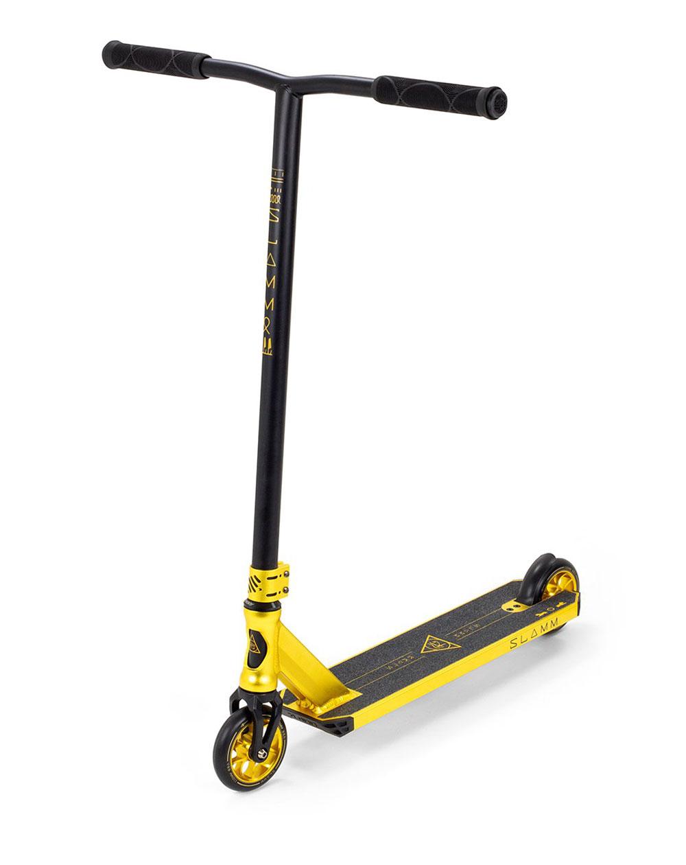 Slamm Scooters Trottinette Freestyle Sentinel V4 Gold
