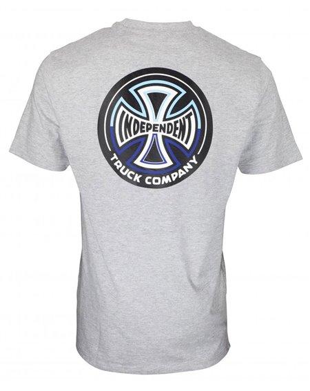 Independent Split Cross Camiseta para Homem Dark Heather