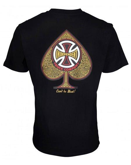 Independent CBB Cross Spade Camiseta para Homem Black