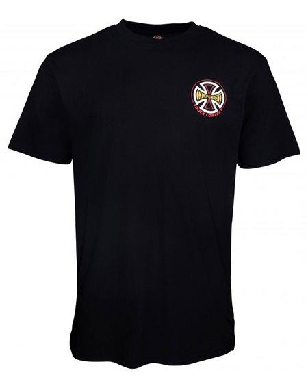 Independent CBB Cross Spade T-Shirt Homme Black