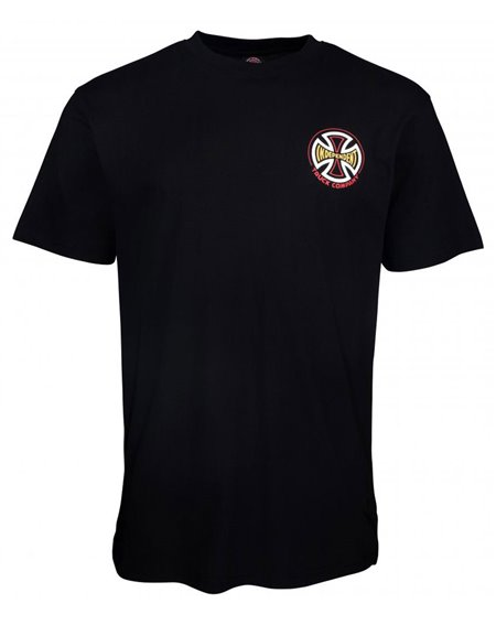 Independent CBB Cross Spade T-Shirt Uomo Black