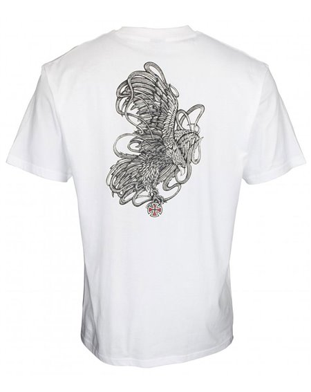 Independent Men's T-Shirt ITC Strike White