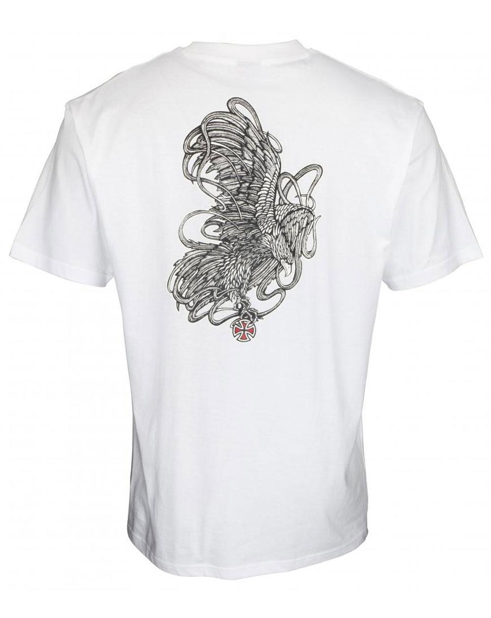 Independent Men's T-Shirt ITC Strike White