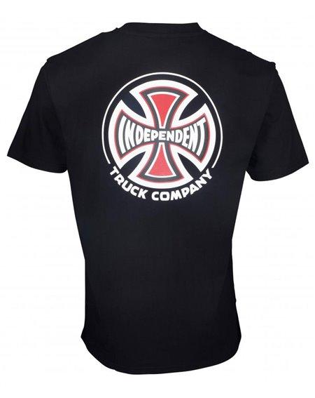 Independent Big Truck Co. Camiseta para Homem Black