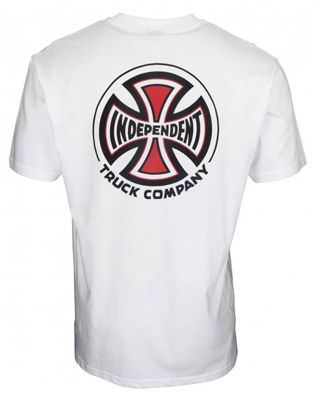 Independent Herren T-Shirt Big Truck Co. White