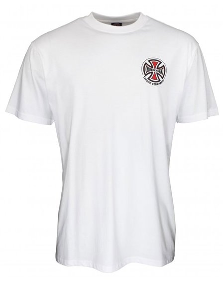 Independent Men's T-Shirt Big Truck Co. White