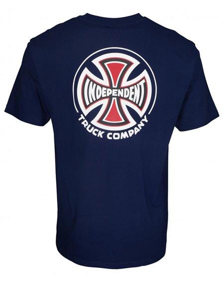 Independent Herren T-Shirt Big Truck Co. Dark Navy