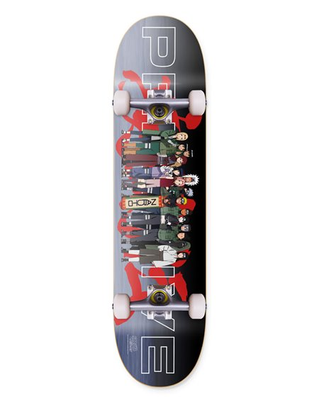 "Primitive Skateboard Completo Naruto Leaf Village 8.00"""
