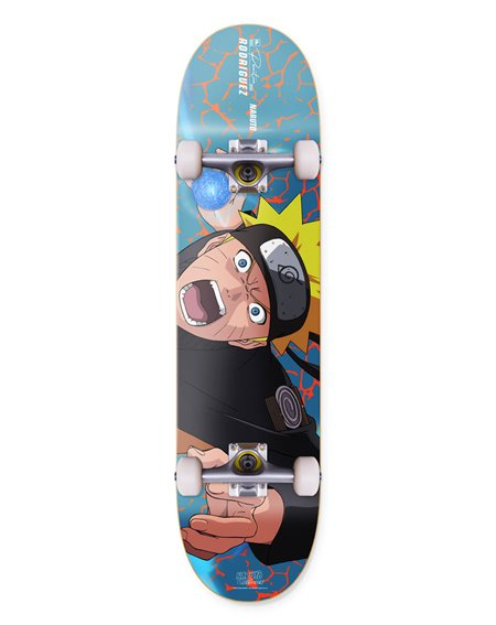 "Primitive Naruto Rodriguez Combat 8.00"" Complete Skateboard"
