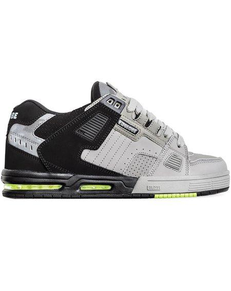 Globe Sabre Scarpe Sneakers Uomo Grey/Black Split