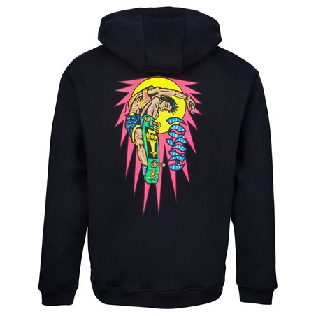 Santa Cruz Men's Hoodie OGSC Hosoi Rocket Air Black