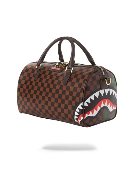 Sprayground Jungle Paris Mini Travel Duffle
