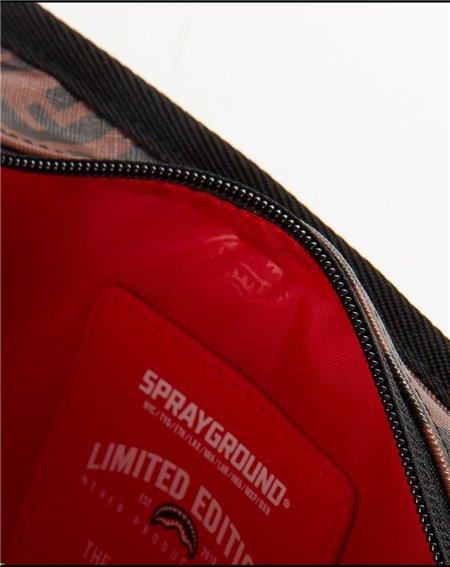 Sprayground Split The Check Waist Pack
