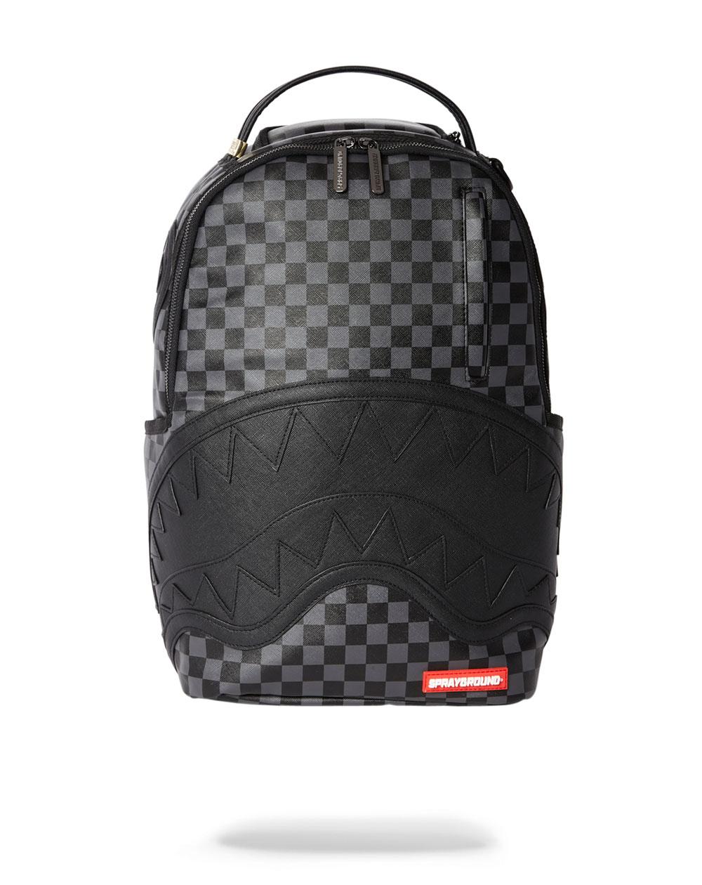 Sprayground Henny Backpack Black Checkered