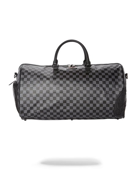 Sprayground Henny Travel Duffle Black Checkered