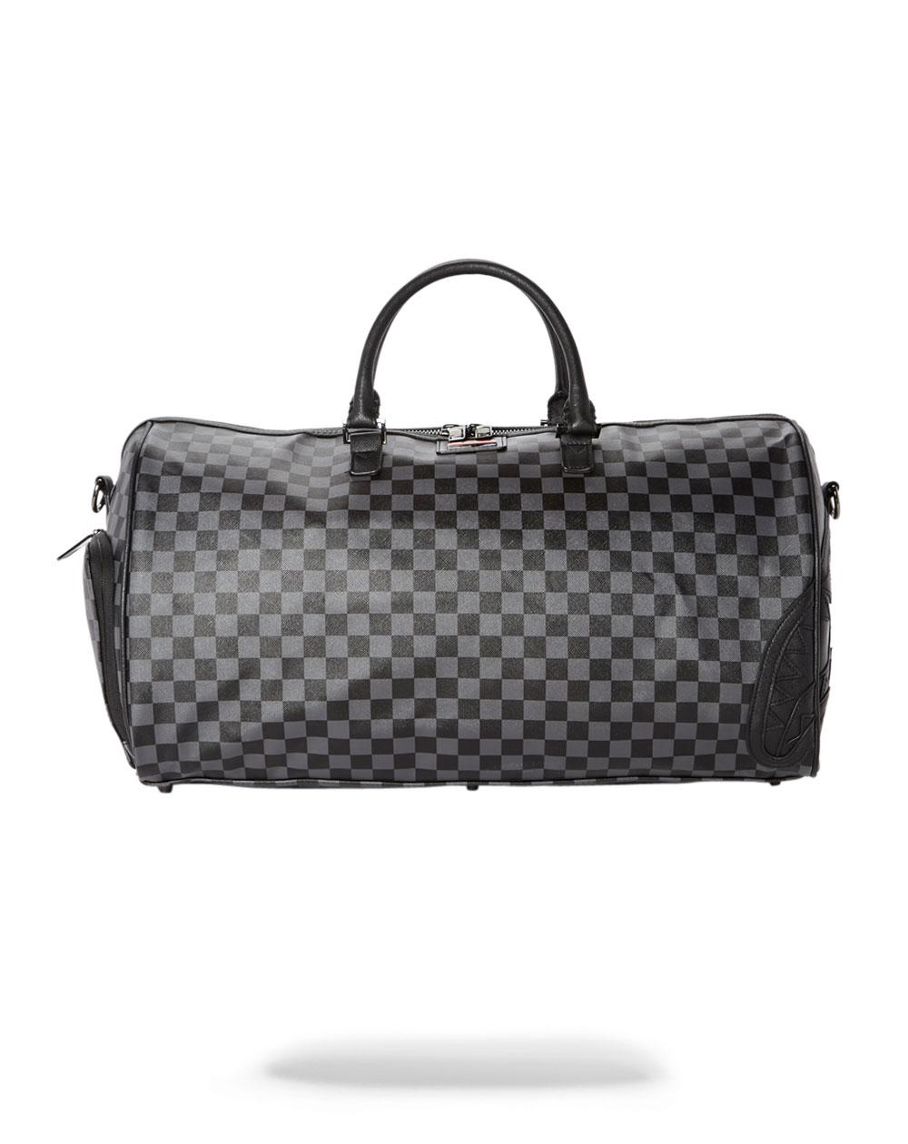 Sprayground Henny Travel Duffle Black Checkered